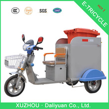 motor tricycle mobile food cart adult tricycle for garbage collection