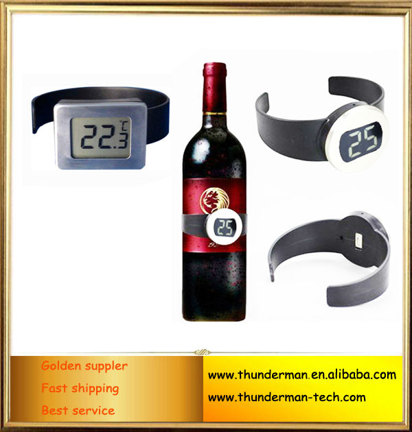 LCD Digital red wine thermometer for red wine,white spirit as gift promotion