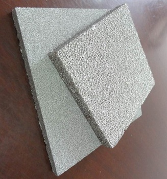 high thermal conductivity more than 1100C metal foam