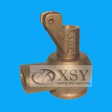 lost wax copper impeller casting / brass fastener