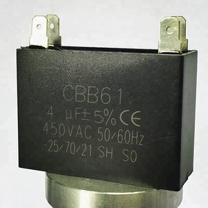 2.5uF Fan Capacitor 250V 50/60Hz Capacitor For Ceiling Fan CBB61