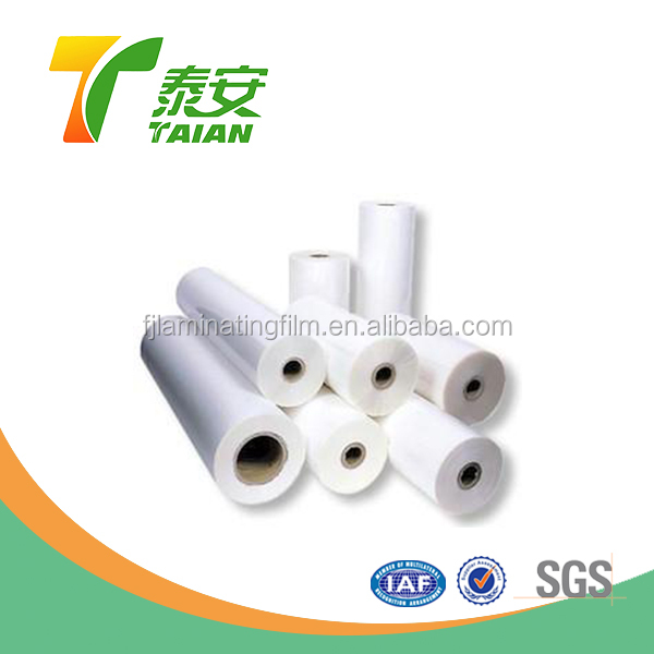Good service factory price plastic wrap reflective plastic thermal lamination film