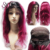 Cheap Wholesale Brazilian Wet And Wavy Remy Human Hair Weave Glueless Ombre Full Lace Wig