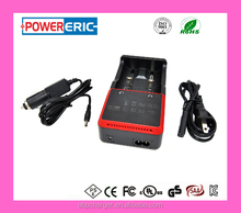 HOT !! LCD Display AA AAA 26650 26350 18650 16340 Li-ion Battery Charger 3.7v