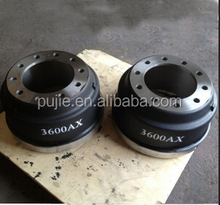 3600ax truck brake drums for Freightliner