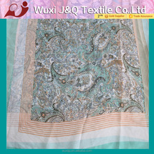 paisley print polyester wholesale muslim scarf and hijab