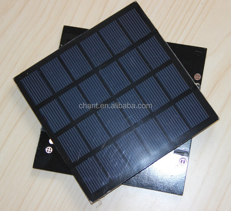 6 v 1.5 W solar laminate DIY solar panel polycrystalline silicon plate 110 * 110,mini solar panel 6v