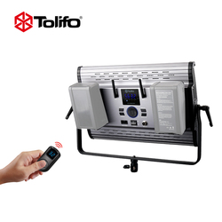 Tolifo CRI 98 LED Photography Studio Light 120W Video and Film Photography LED Panels Light Photo Studio Equipment Set
