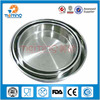 Good quality 201 thailand style stainless steel food plate ,round tray