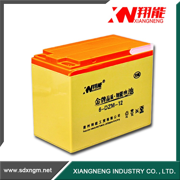 China electric road vehicle lead acid electric ebike battery