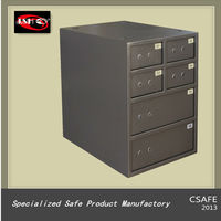 Steel Safe deposit lockers (6 Opening)