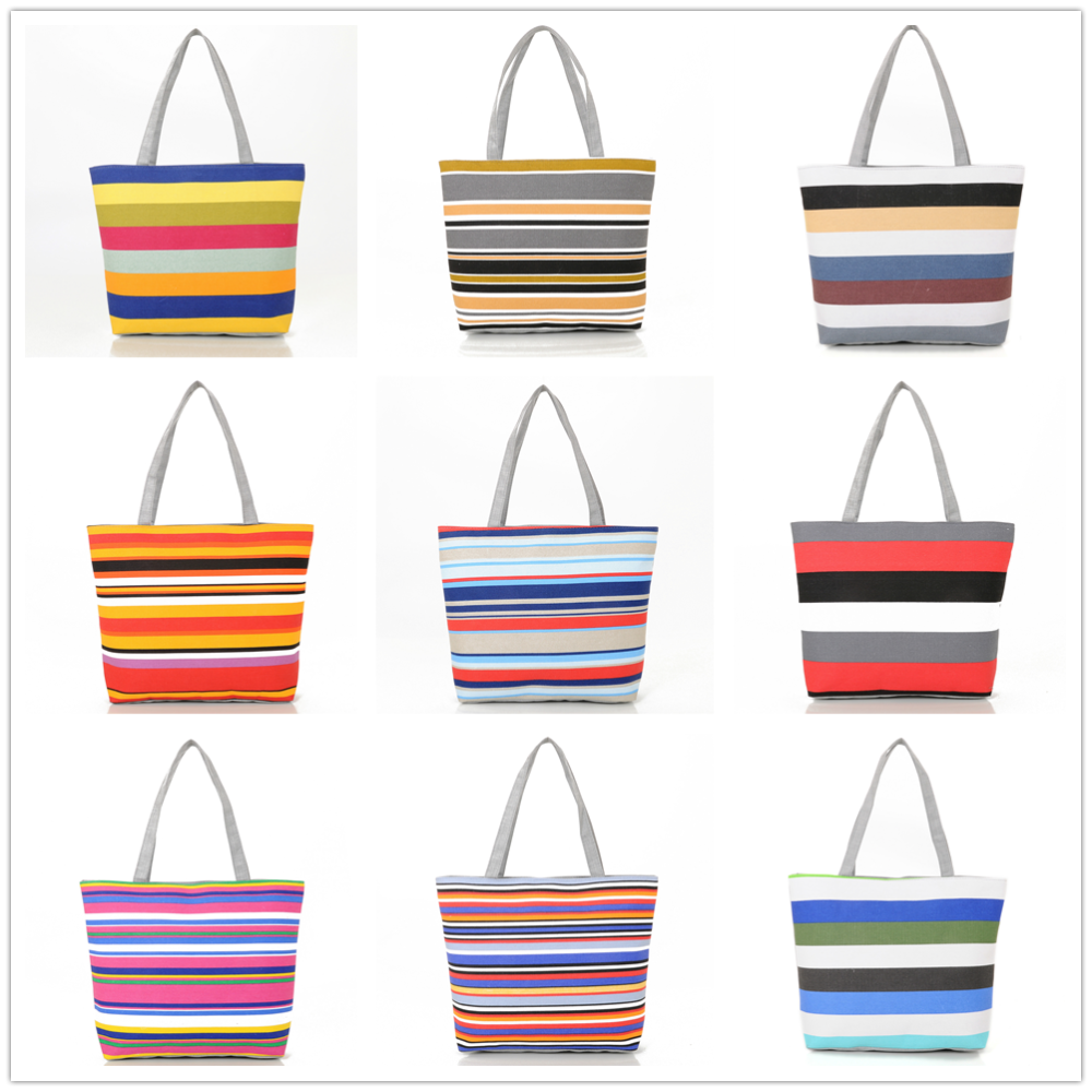 2016 Women Canvas Bags Beach bag Tote Shoulder Bags Women Canvas <strong>Handbags</strong>