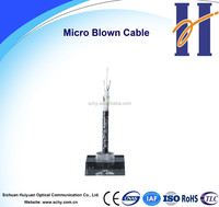 Network equipment micro blown cable 216 core optic fiber cable