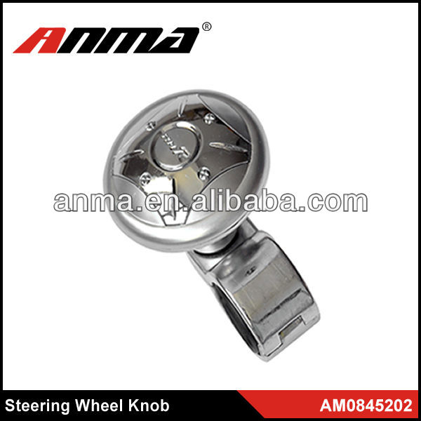 Popular design ANMA high quality auto steering wheel knob
