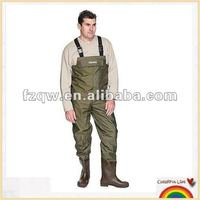 pant with boots fishing wader