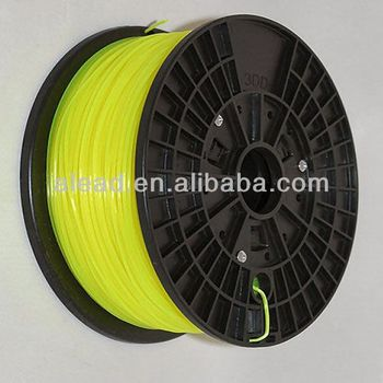 Yellow Color 1.75mm PVA ABS 3D Printer Filament 2.20LB/1.0KG