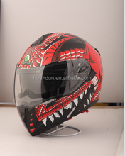 HD double visor flip up helmet /motorcycle helmet with dot certification HD-701