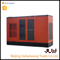 2000KW soundproof diesel generator with power plant project