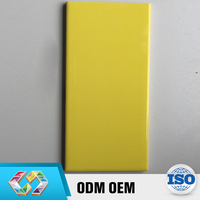 New 2016 Product Idea Toilet Designs 75X150Mm Lemon Yellow Wall Tiles