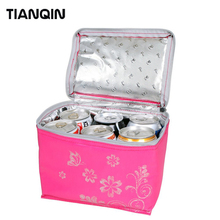 Promotional Disposable Wine Thermal Cooler Bag Lunch Bag for Frozen Food