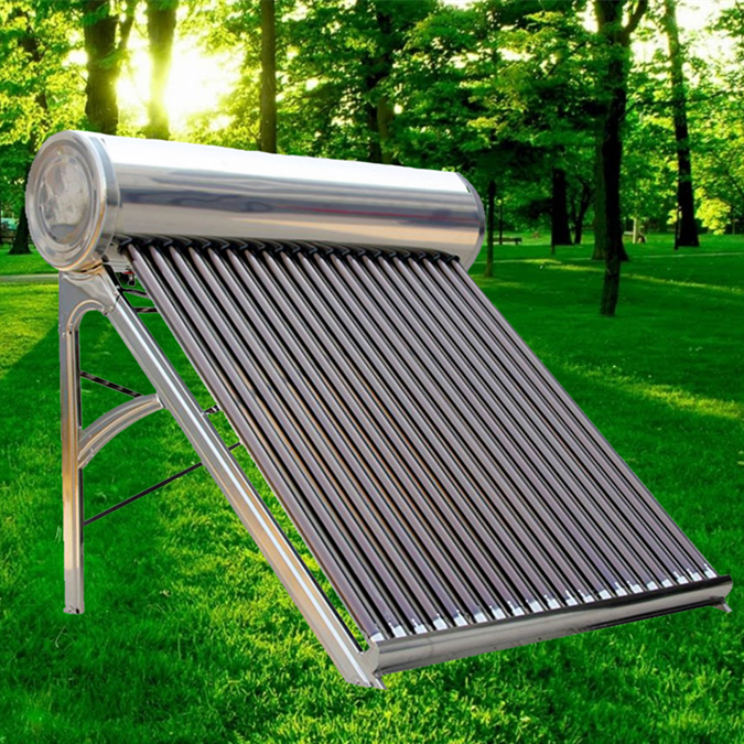 6 Years Quality Assurance 200 Liters Stainless Steel Non Pressure/Open Loop Solar Heater, Solar Water Heater