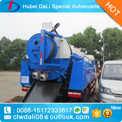 Dongfeng 145 sewer scavenger, vacuum sewage suction truck