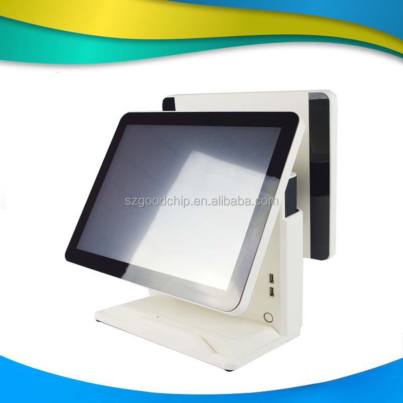 Newest item 15.6 inch capacitive touch screen windows pos terminal for restaurant ordering management system-----Gc066