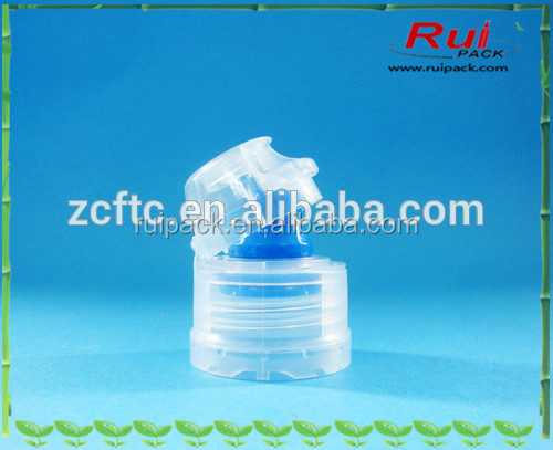 28mm plastic flip top cap with silicone valve for sport water bottle, flip top cap for 1881 1810 neck bottle