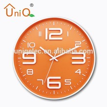 Young town quartz wall clock with fashional design