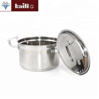 High temperature round Soup pot stainless steel kitchen supplies