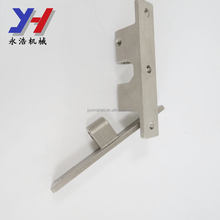 OEM ODM factory manufacture SGS ISO ROHS precision machining slot hinge screw-on hinge as your drawing
