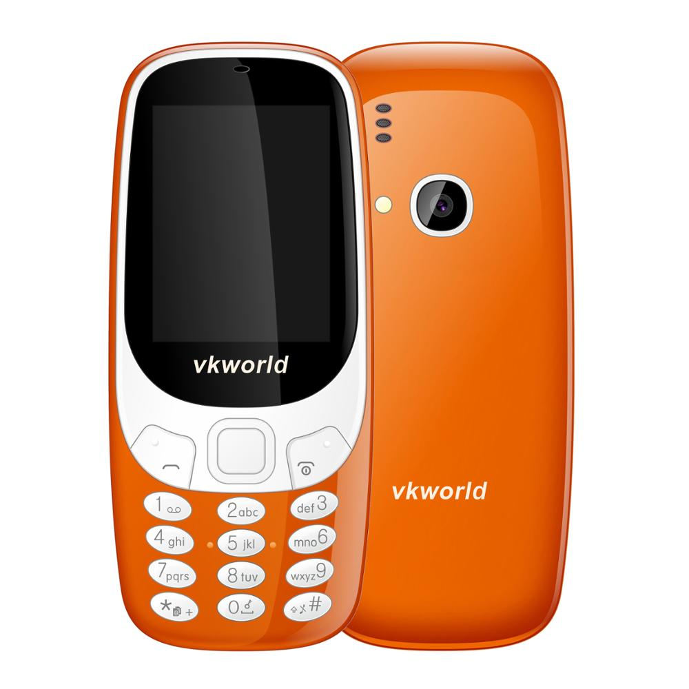 Low Price High Quality Cheap Mobile Phone VKWORLD Z3310 High Copy Noka 3310 Phone Smart 2.4inch Big Keyboard Elder Cell Phone