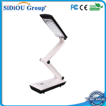 touch rechargeable folding led reading lamp