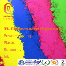 fluorescent powder coating, fluorescent pigment powder for powder spray