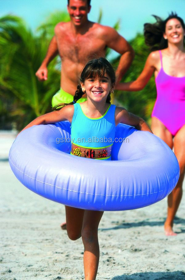 EN71 pvc inflatable kids flotador swimming ring