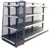 Convenience Grocery Store Metal Display Racks With Good Quality
