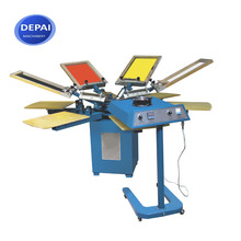 DP-SPM450 Cheap Automatic Carousel Screen Textile Printing Machine for sale