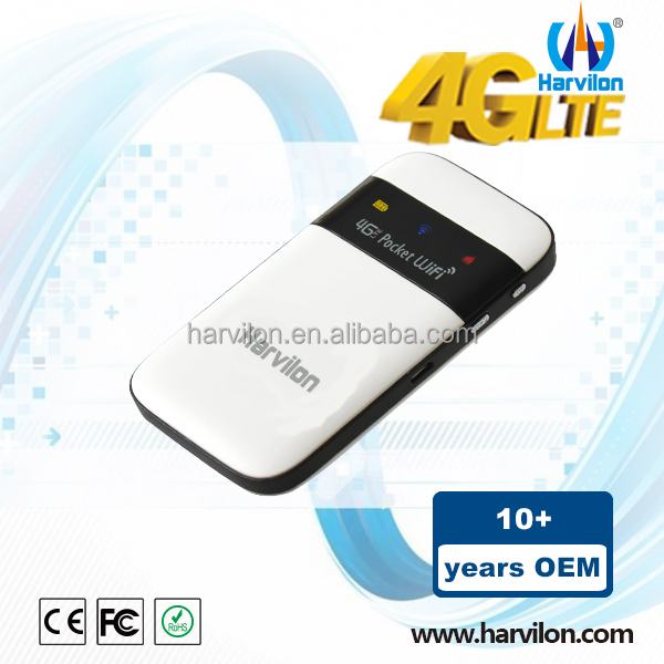 Internal Antennas ZTE Chipset Router 4G Pocket Wireless Router With SIM LTE Modem