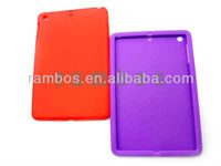 For iPad mini Tablet PC Cover Soft Silicon Covers with Back Case Cover