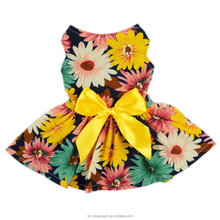 wholesale dog dress, cute dog dress fashion pet clothing