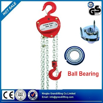 Hand Chain Hoist Manual Crane Hoist Chain Block