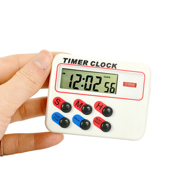 memory function Kitchen Cooking Digital LCD Sport Countdown Calculator