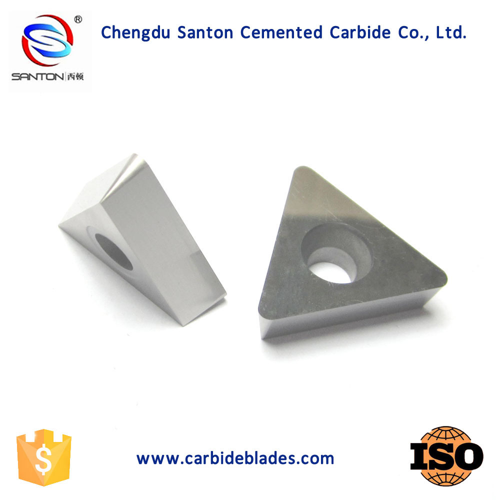 K10 K20 Top quality cemented tungsten carbide insert for wood chipper blade