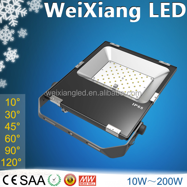 Billboard projector light outdoor 100 watt led flood light narrow <strong>beam</strong> angle <strong>10</strong>/30/45/60 deg SAA approved with cheap price