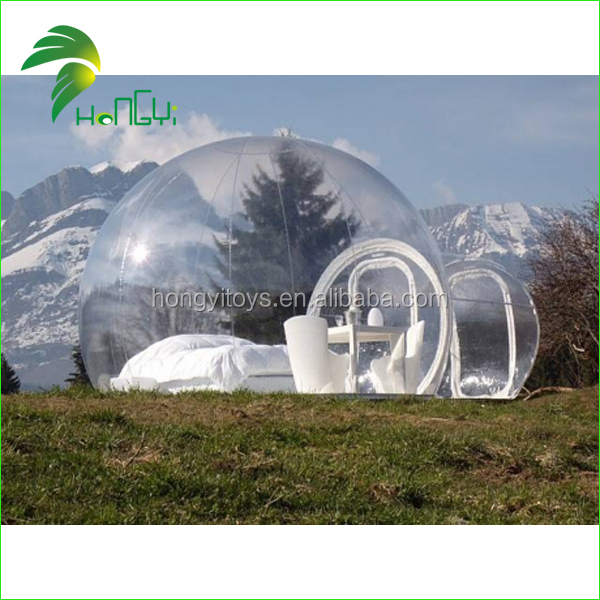 hot sale customized inflatable clear tent