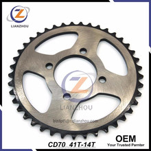 Wholesales OEM Spare Parts CD70 Motorcycle Sprocket