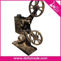 resin movie projector model/antique imitation craft