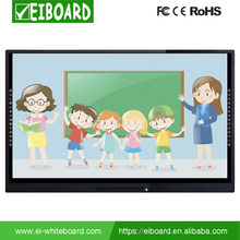 65 inches touch screen led tv whiteboard with stand for Kids and Meeting