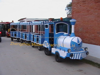 Tourist Trackless Road Train For Park