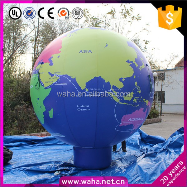 Brand New 2.8m Giant Inflatable Earth Event Inflatable Globle Advertising Balloon Model W10988